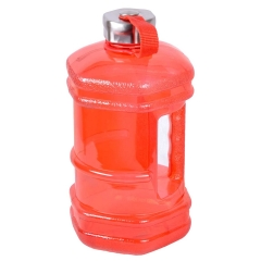 2.3L Gym Fitness Hexagon Water Jug with Metal Handle
