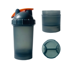 17oz/500ml Bullet Shaker with Storage