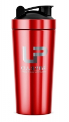 750ML Red Stainless Steel Protein Shaker Bottle For Sports Nutrition